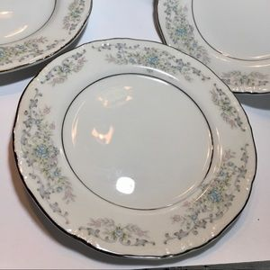 Vintage Dining - Norleans Theresa Bread& Butter Plates Set of 4